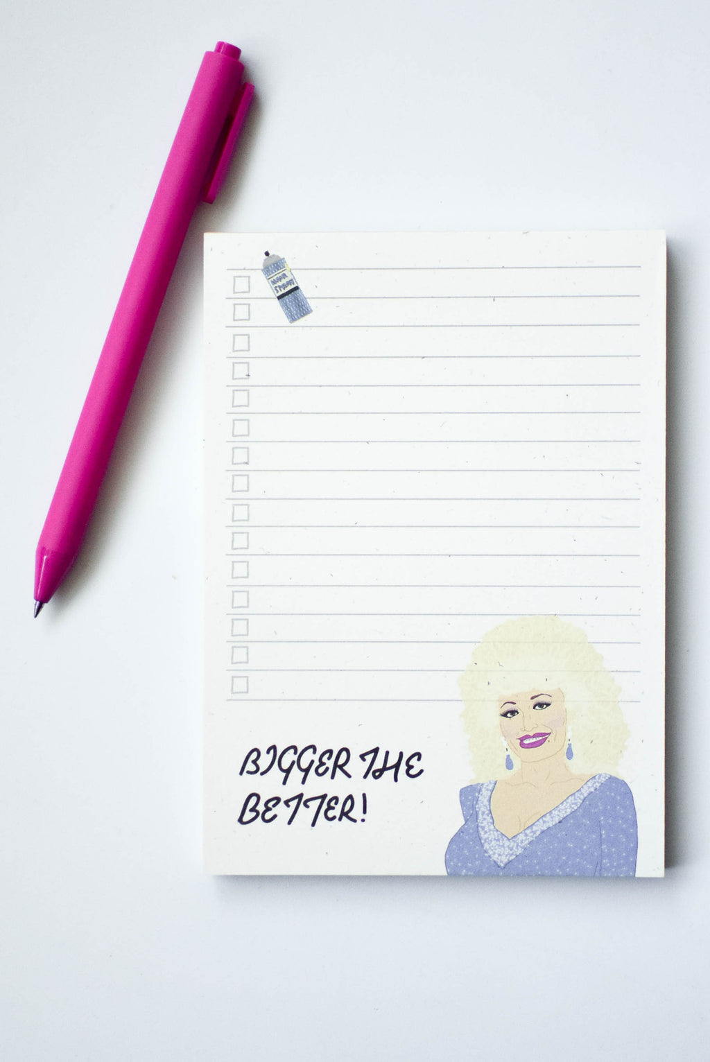 Dolly Parton Notepad