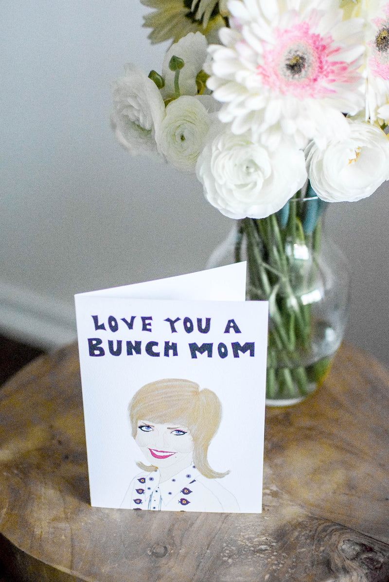 Brady bunch mom card