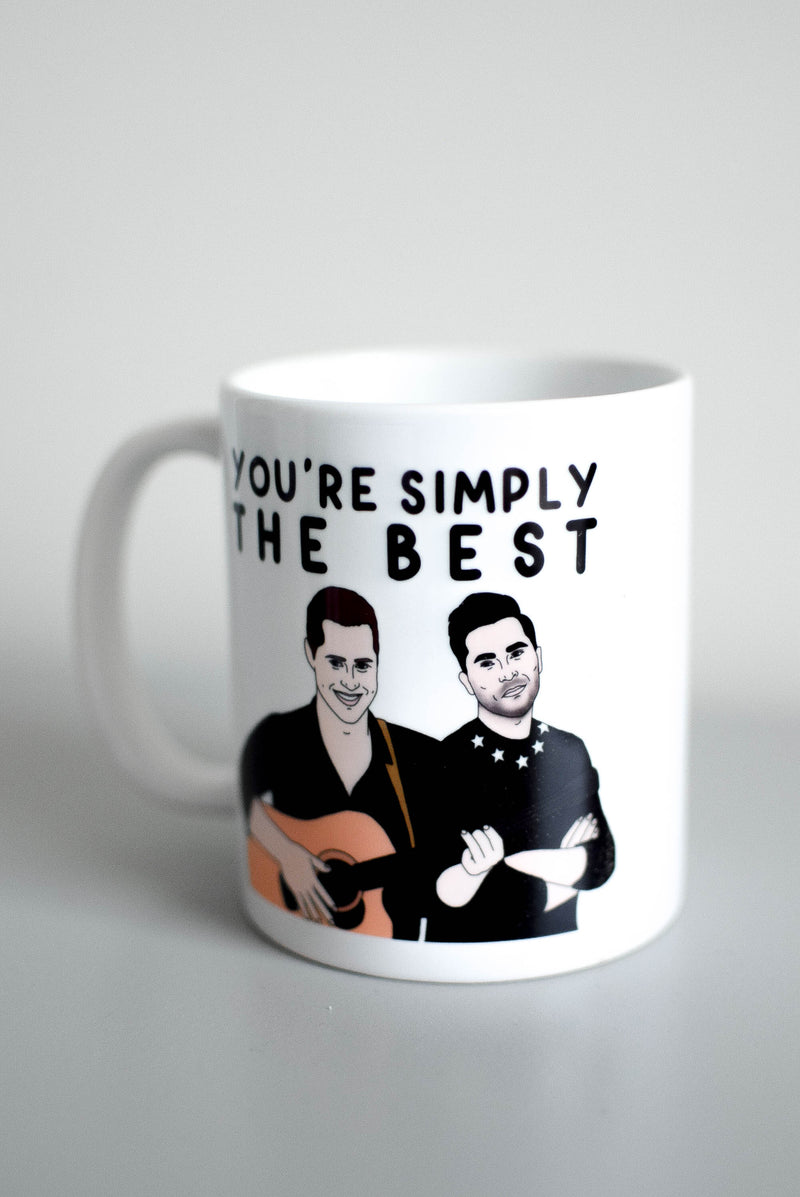 schitts creek simply the best mug
