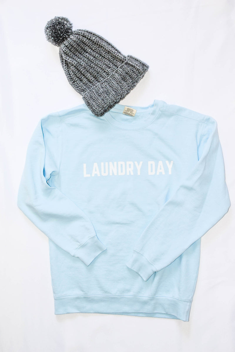 laundry day sweatshirt