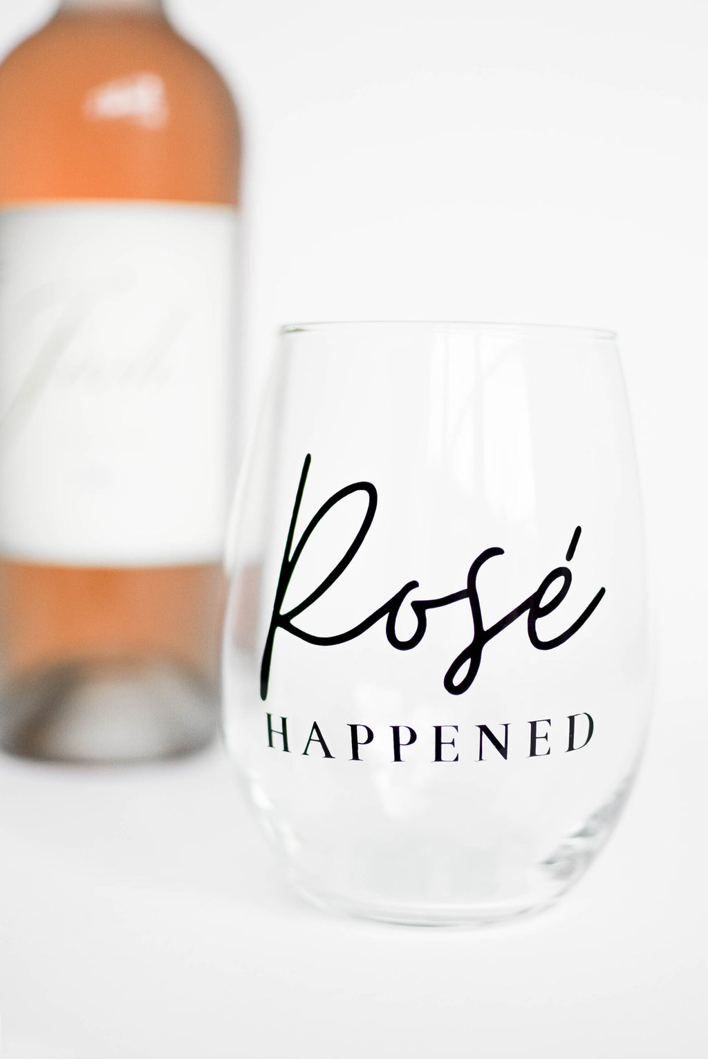 'Rosé Happened' - Bravo TV RHONY - Wine Glass