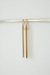 Long Bar Earrings - Gold