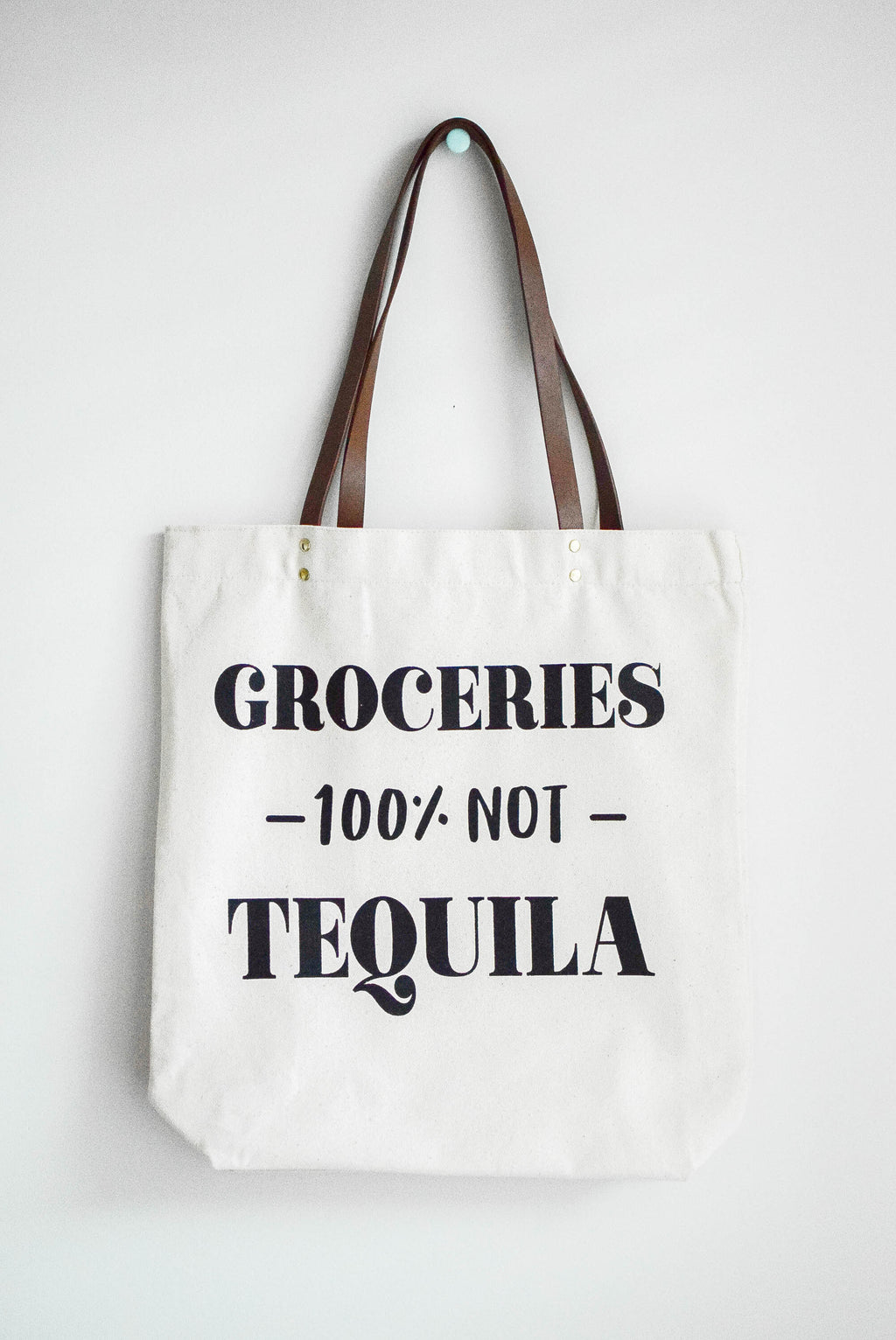 reusable canvas tote funny