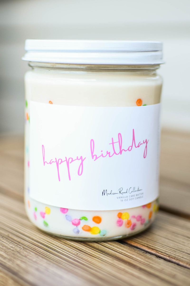 funfetti birthday candle