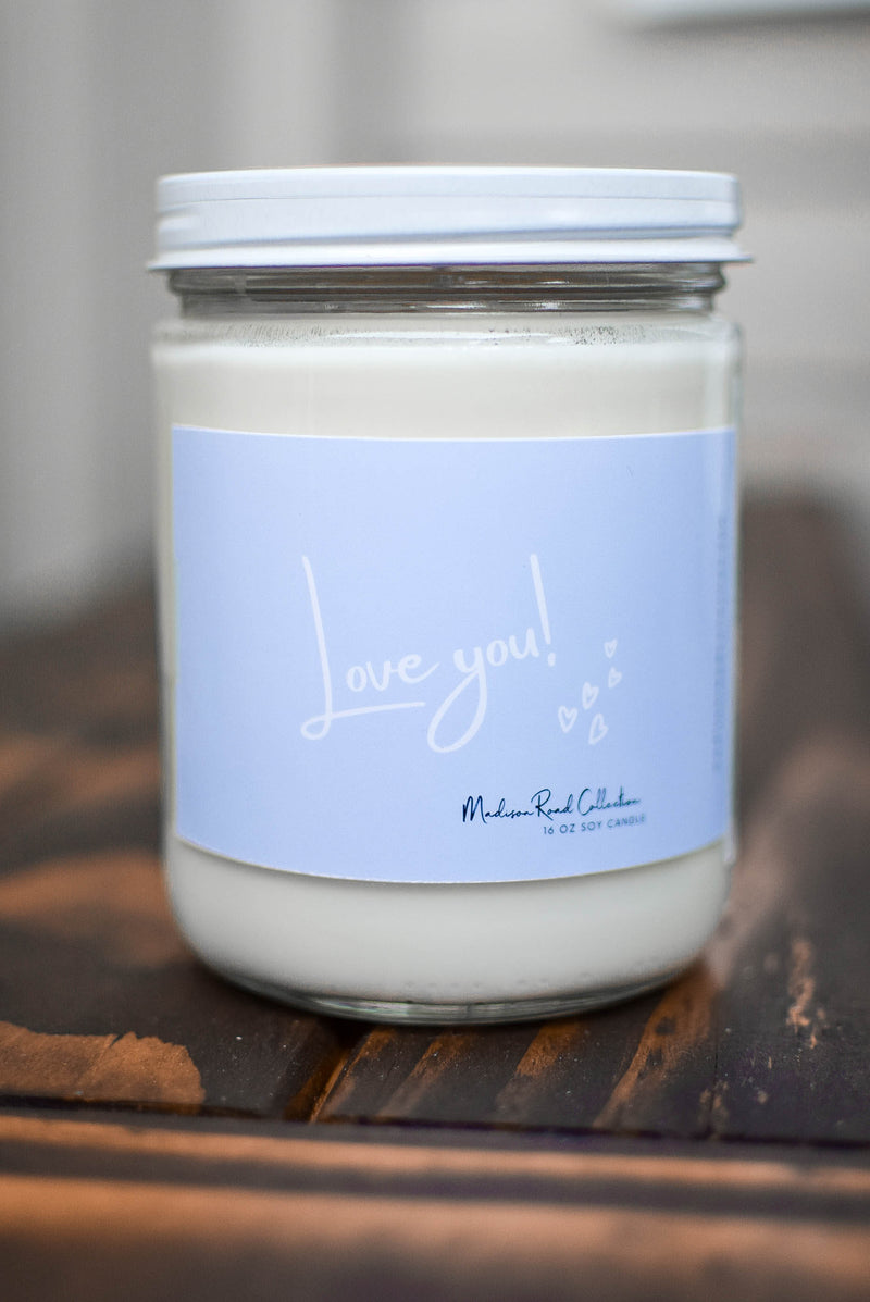 just because gift candle