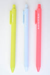 Blah Blah Blah - Pen Set - Mint Pop Shop