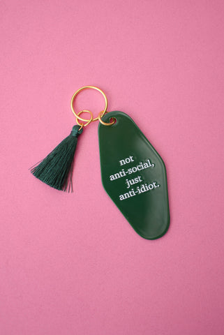 Tired Moms Club Keychain