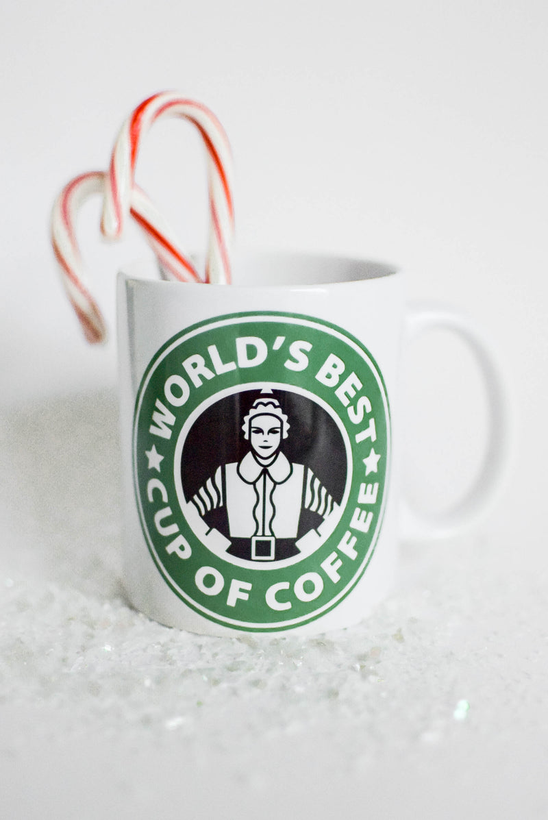 elf movie coffee mug
