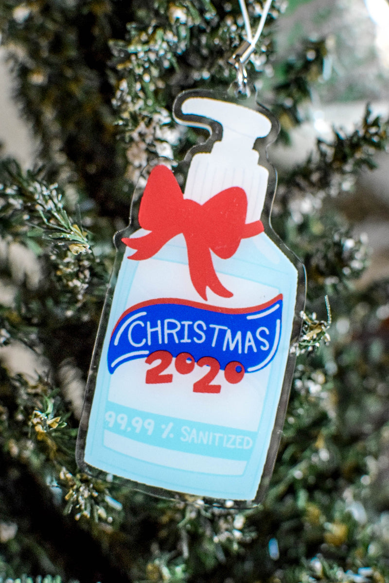 hand sanitizer christmas 2020