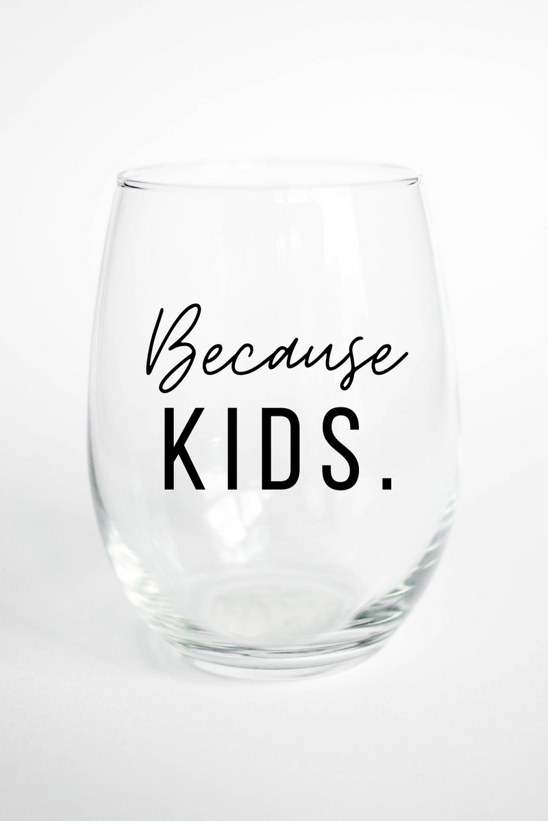mom wine glass