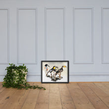 Load image into Gallery viewer, A Flock Of Curious Toucans Framed poster