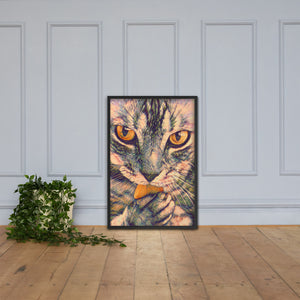 Tobby The Cat, Framed poster