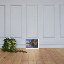 Load image into Gallery viewer, Boat House, Framed poster