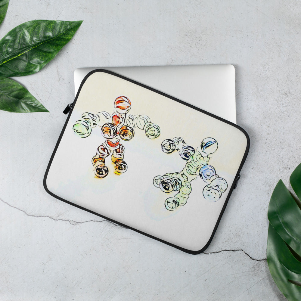 Sexy nude pair Laptop Sleeve
