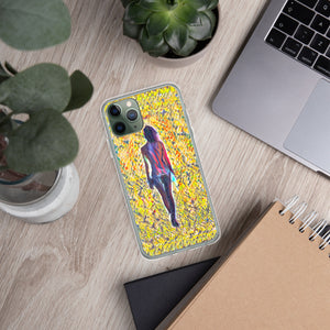 Walking into unknown iPhone Case