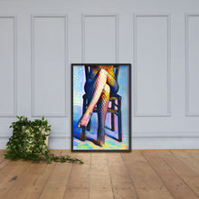 Load image into Gallery viewer, Getting Ready For You, Framed poster