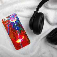 Load image into Gallery viewer, Colorful plasma ball iPhone Case