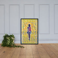 Load image into Gallery viewer, Walking Into The Unknown, Framed poster