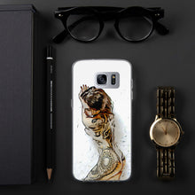Load image into Gallery viewer, Flower Whole Body Tattoo Samsung Case
