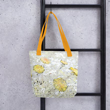 Load image into Gallery viewer, Dandelion Flower Tote bag