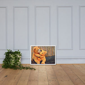 Teddy Bear, Framed poster