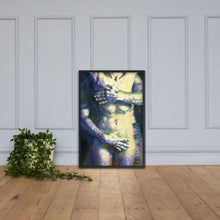 Load image into Gallery viewer, Censored Passion, Framed poster