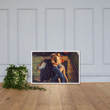 Load image into Gallery viewer, A couple in love, Framed poster