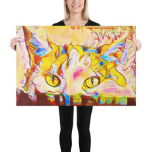 Load image into Gallery viewer, Colorful Abstract Cat, Canvas