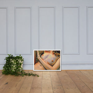 Nude woman, Framed poster