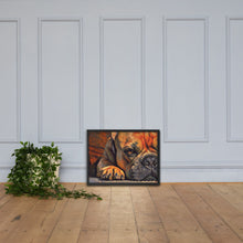 Load image into Gallery viewer, Paw, Framed poster