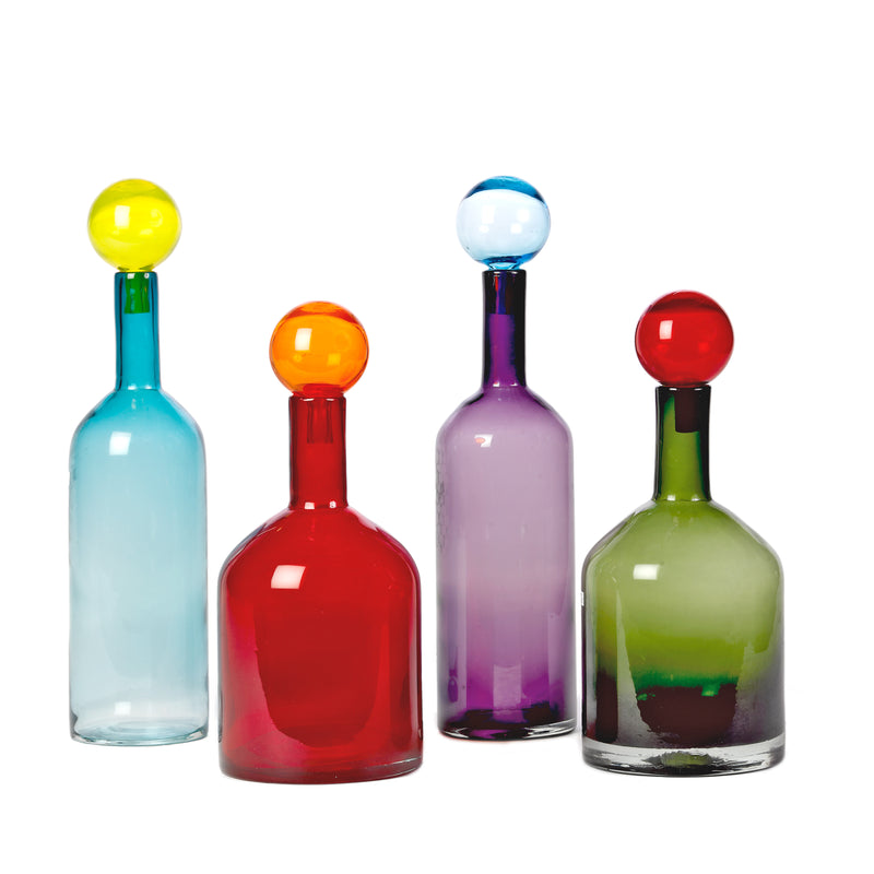 Pols Potten Bubbles & Bottles Multi Mix XL -  Set of 4