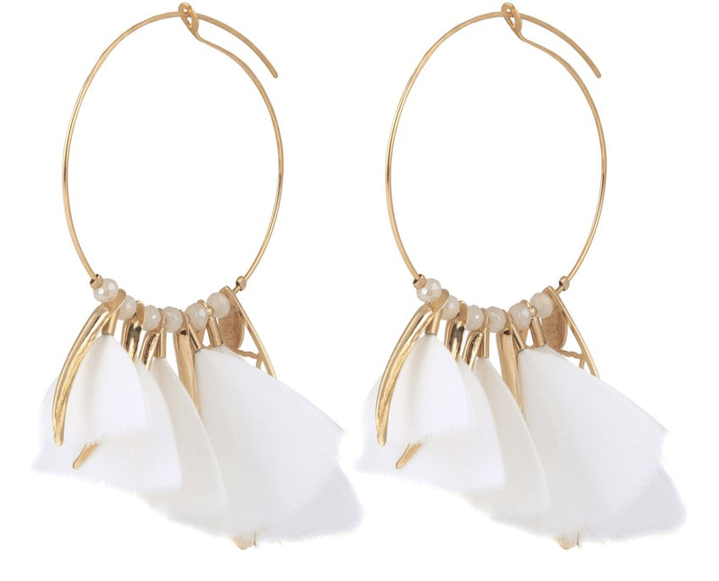 Earrings by Gas Bijoux