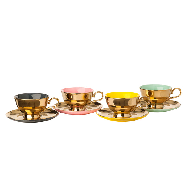 Pols Potten Legacy Gold Tea Set - Set of 4