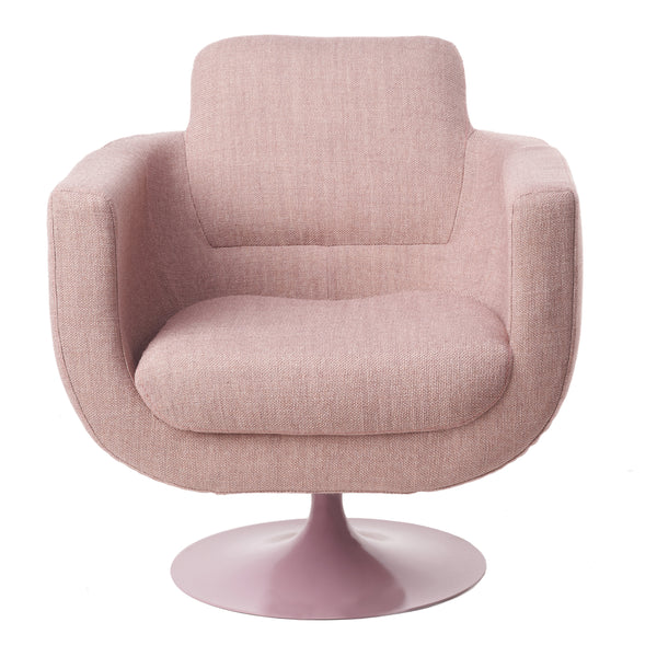 Pols Potten Swivel Chair Kirk Pink