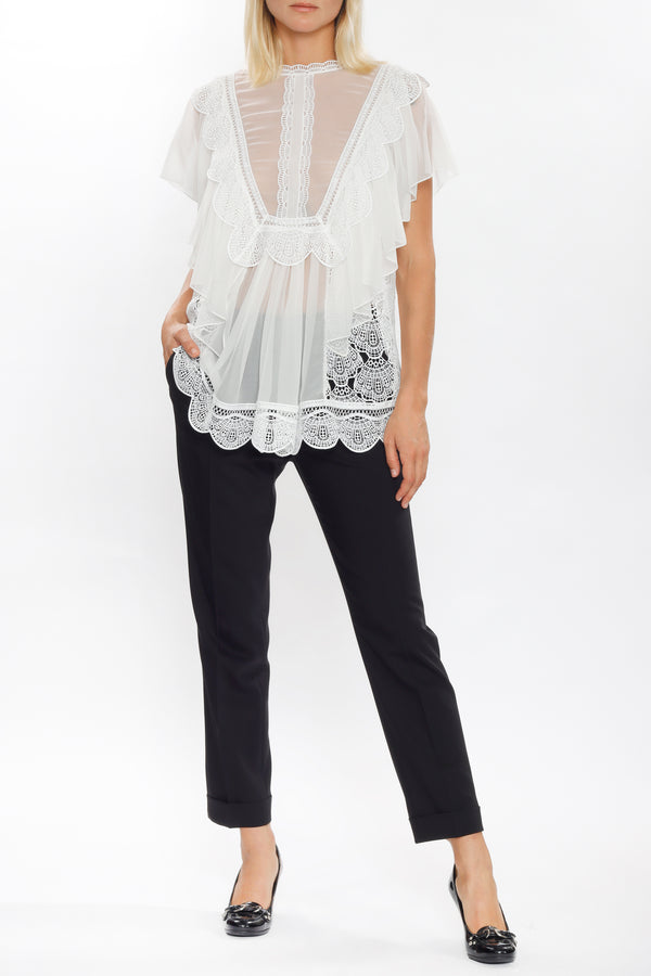 Blouse by Alberta Ferretti