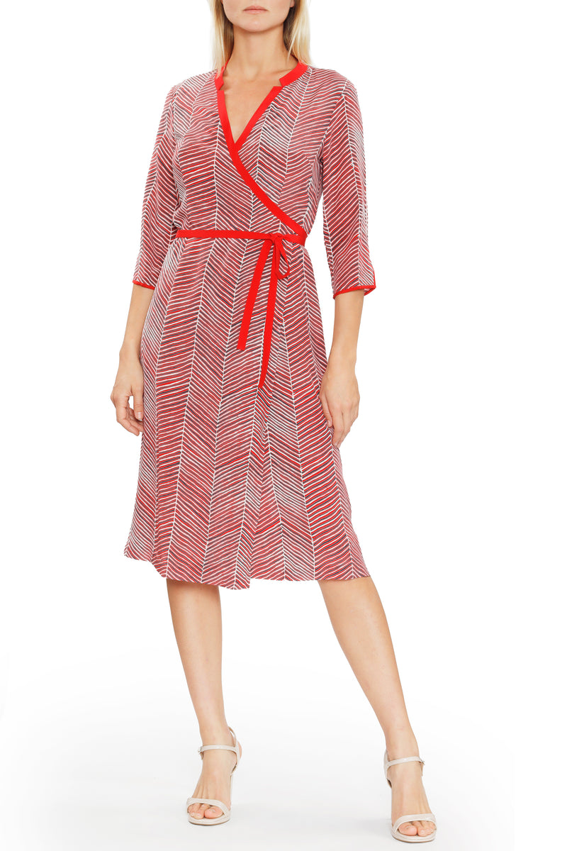 Wrap Dress by Kudlee, Rasa Jaipur