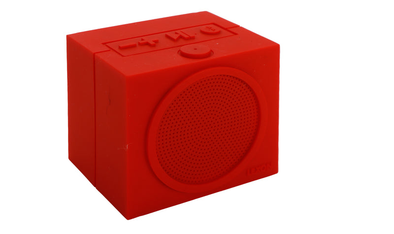 RED TYKHO Speaker By Lexon