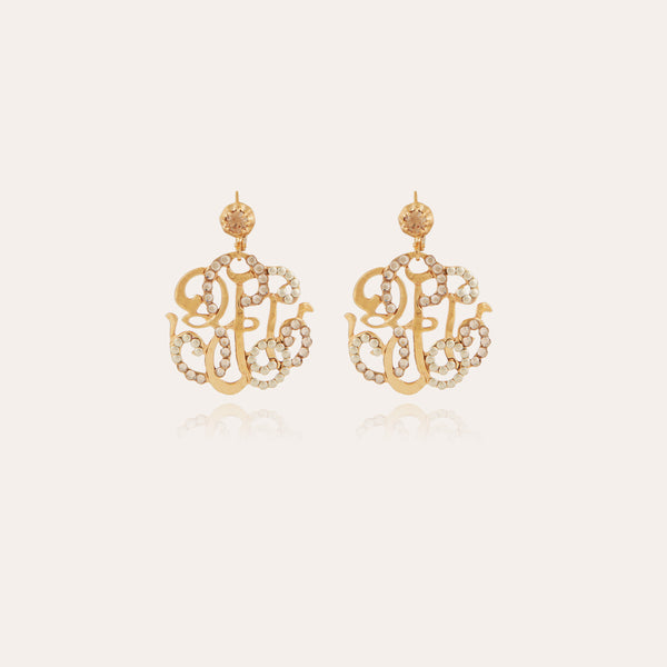 Arabesque Earrings small by Gas Bijoux