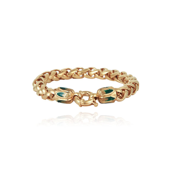 Alexi Bracelet by Gas Bijoux, 24k gold, New arrivals, Espace Cannelle