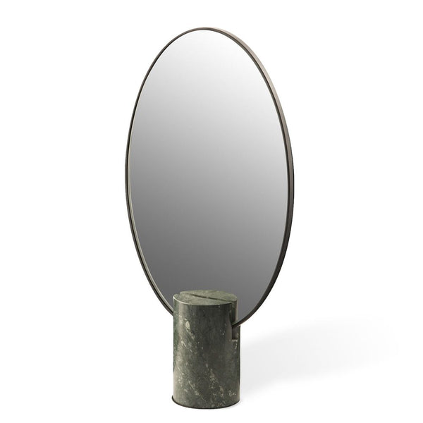 Marble Green Oval Mirror by Pols Potten