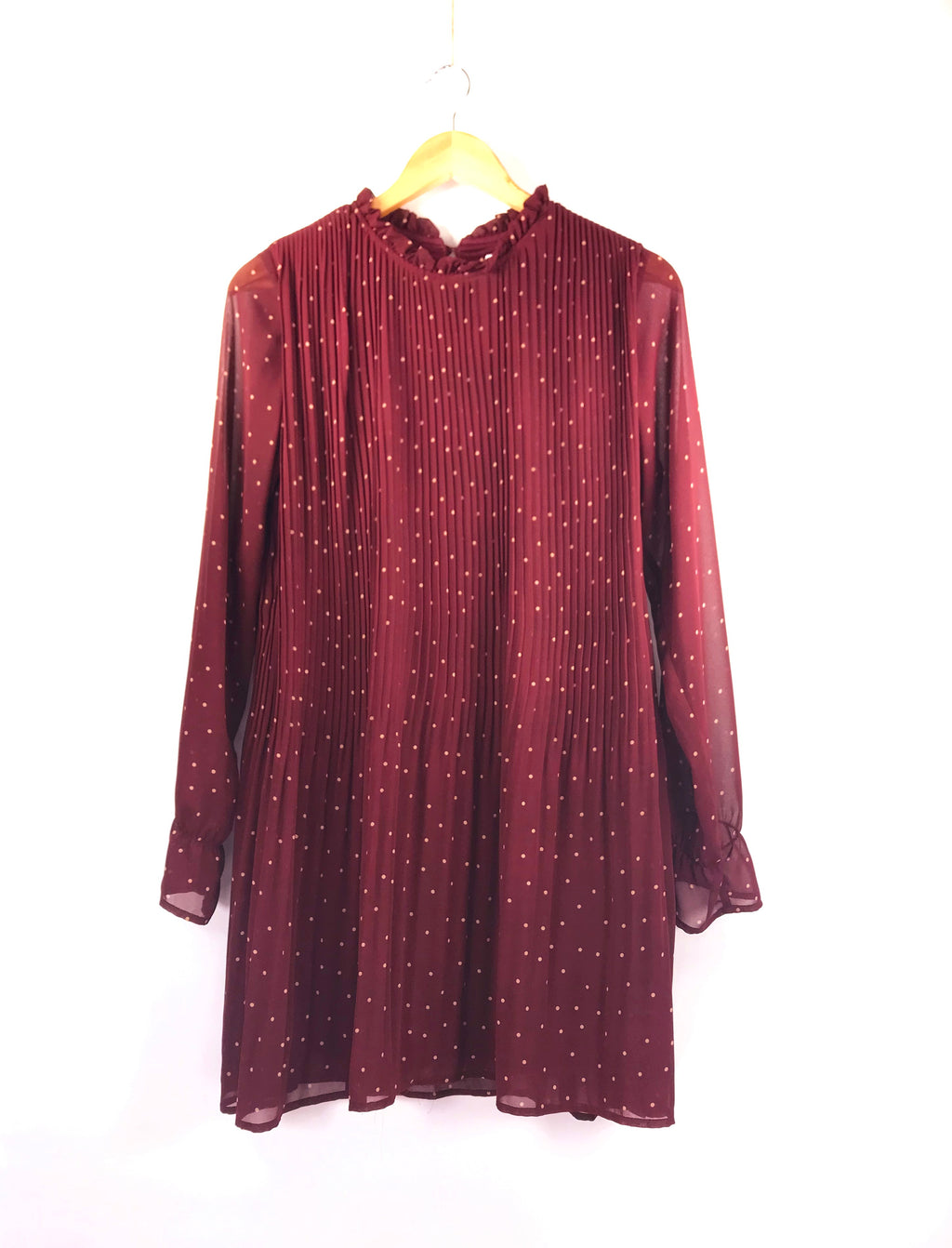 Hope Dress in Burgundy