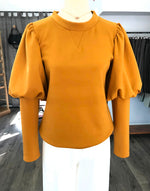 Mustard Leg of Mutton Sweatshirt