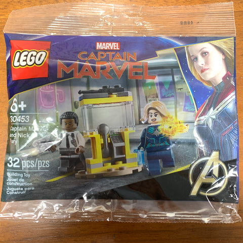 Lego DC Super Heroes Capitán Marvel and Nick Fury 30453 polybag