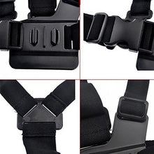 Load image into Gallery viewer, Chest Strap mount belt for Gopro hero 7 6 5 Xiaomi yi 4K Action camera Chest Mount Harness for GoPro SJCAM SJ4000 sport cam fix