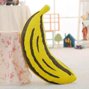 1pc 30-100cm 2 Patterns Real life fruit pillow Banana Corn pillows Plush stuffed vegetable cushion Soft fabric Child's Xmas gift
