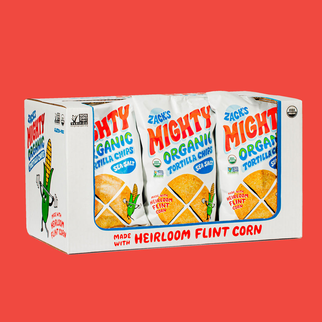 Zack's Mighty Tortilla Chips, 9 Pack