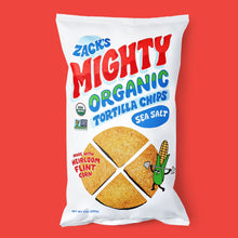 Load image into Gallery viewer, Zack's Mighty Tortilla Chips Bag.