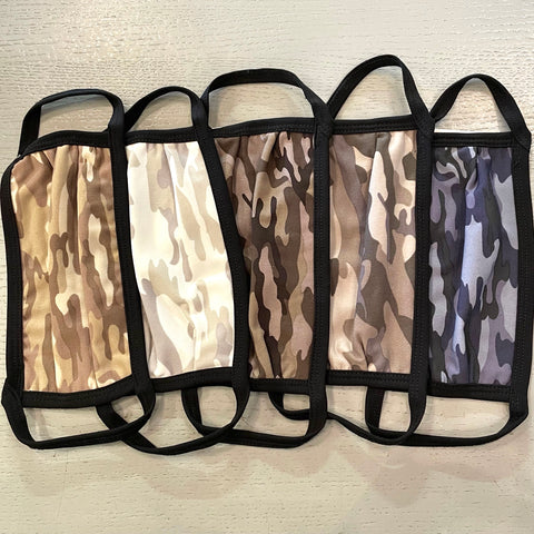 Cloth Camo Masks