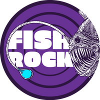 Fish Rock Vinyl Sticker 4""
