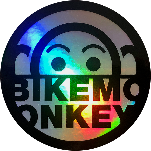 Bike Monkey Air-Dried Unicorn Hide Sticker 3""